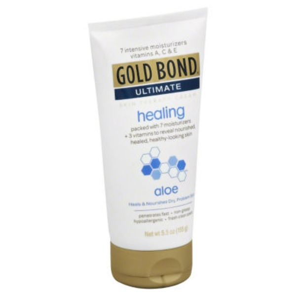 Gold Bond Ultimate Skin Therapy Cream Healing with Aloe
