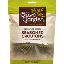 Olive Garden Italian Kitchen Garlic & Romano Seasoned Croutons