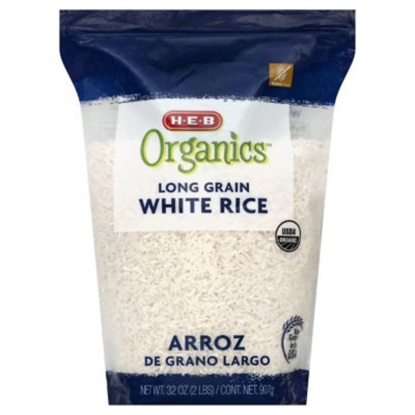 H-E-B Organics Long Grain White Rice