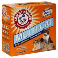 Arm & Hammer Multi-Cat Extra Strength Clumping Unscented Cat Litter