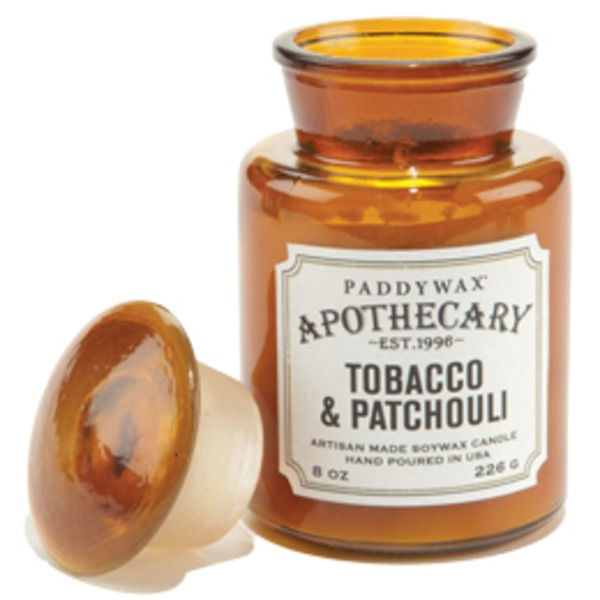 Paddywax Apothecary Tobacco & Patchouli Softwax Candle