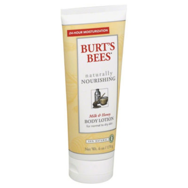 Burt's Bees Milk and Honey Body Lotion, 6 Ounces