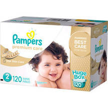 Pampers Premium Care Disposable Diapers Huge Box Size 2
