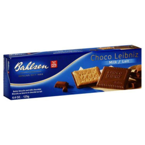Bahlsen Choco Leibniz Butter Biscuits and Milk Chocolate Fine European Biscuits