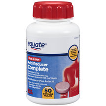 Equate Complete Dual Action Berry Flavor Acid Reducer Plus Antacid