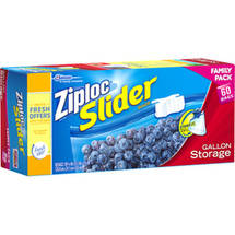Ziploc Slider Gallon Storage Bags
