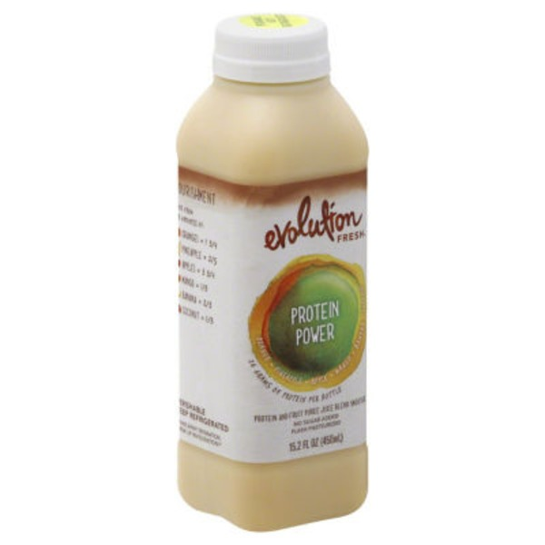 Evolution Fresh Protein Power Original Fruit Juice Blend Protein Smoothie