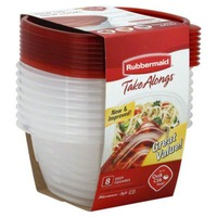 Rubbermaid TakeAlongs Deep Square Storage Containers