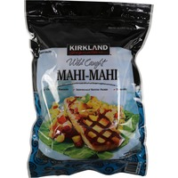 Kirkland Signature Individually Wrapped Wild Mahi Mahi