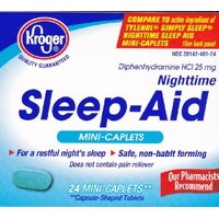 Kroger Nighttime Sleep Aid Mini-Caplets