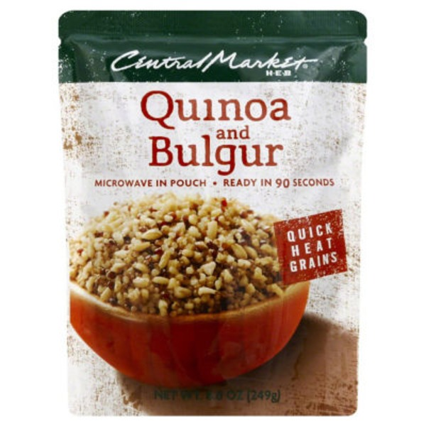 Central Market Quick Heat Quinoa And Bulgur