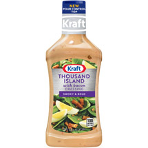 Kraft Salad Dressing: Dressing Thousand Island w/Bacon