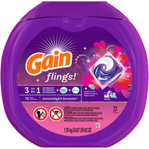 Gain flings! Moonlight Breeze Detergent Pacs