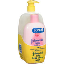 Johnson's Head-to-Toe Baby Wash and Baby Lotion Variety Pack