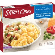 Weight Watchers Smart Ones Cheesy Scramble with Hash Browns