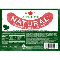 Applegate Natural Uncured Turkey Hot Dog