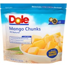 Dole Chunks All Natural Mango
