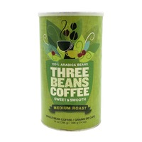 Three Beans Coffee Medium Roast Whole Bean Coffee