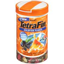 Tetra Tetrafin Goldfish Flakes Fish Food