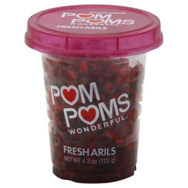 Pom Poms Wonderful Pomegranate Arils
