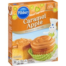 Pillsbury Moist Supreme Caramel Apple Premium Cake Mix