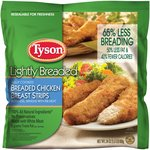 Tyson Lightly Breaded Chicken Breast Strips