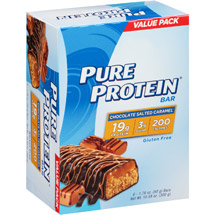 Pure Protein Chocolate Salted Caramel Bars