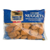 Tyson Our American Favorite Fully Cooked Breaded Chicken Nugget