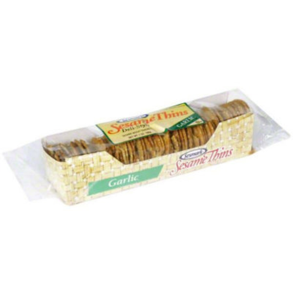 Sessmark Sesame Thins, Garlic