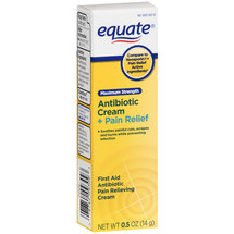 Equate Antibiotic Plus Pain Relief Maximum Strength Cream