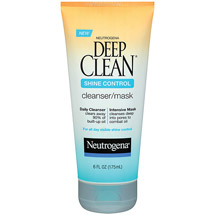 Neutrogena Deep Clean Shine Control Cleanser/Mask