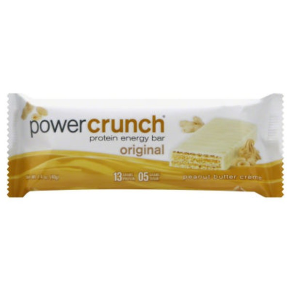 Power Crunch Protein Energy Bar Original Peanut Butter Creme