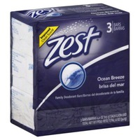 Zest Ocean Breeze Refreshing Bar Soap