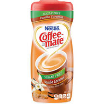 Nestle Coffee Mate Vanilla Caramel Sugar Free Powder Coffee Creamer