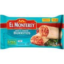 El Monterey Beef & Cheese Burritos