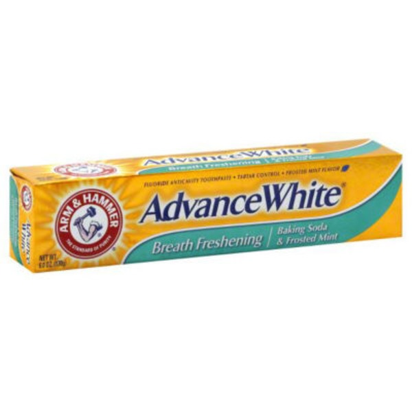 Arm & Hammer Advance White Breath Freshening Baking Soda & Frosted Mint Advance White Toothpaste