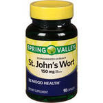 Spring Valley St. John's Wort Herbal Supplement Capsules 300 mg