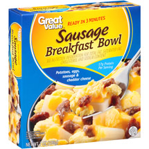 Great Value Sausage Breakfast Bowl