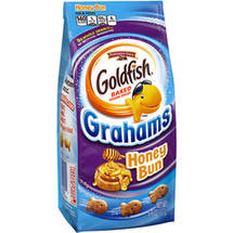 Pepperidge Farm Goldfish Grahams Honey Bun Baked Graham Snacks