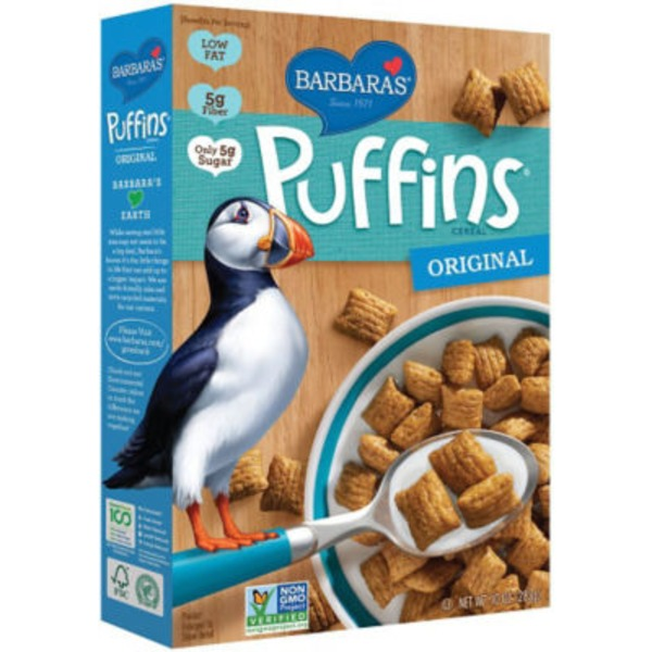 Puffins Original Cereal Display