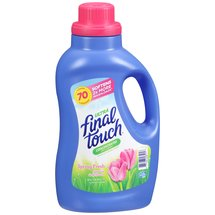 Final Touch Ultra Spring Fresh Concentrated Fabric Softener