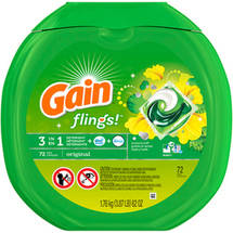 Gain flings! Original Detergent Pacs