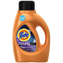 Tide Plus HE a Touch of Downy Sweet Dreams Scent Liquid Laundry Detergent