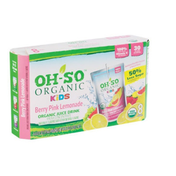 Oh So Organic Organic Kids Berry Pink Lemonade