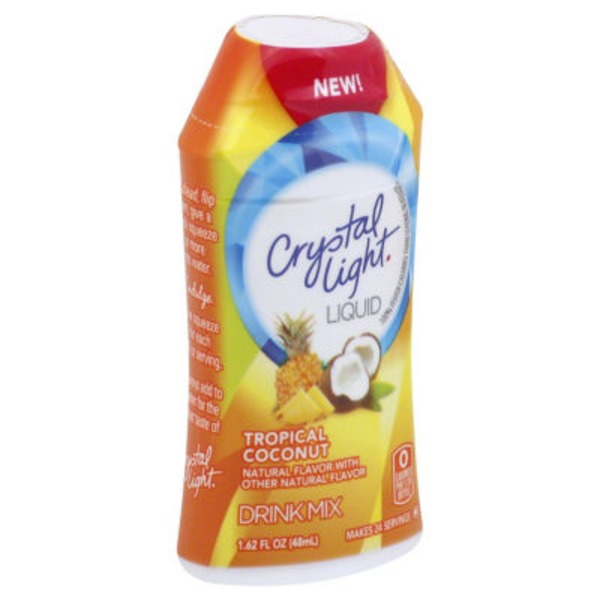 Crystal Light Tropical Coconut Liquid Drink Mix
