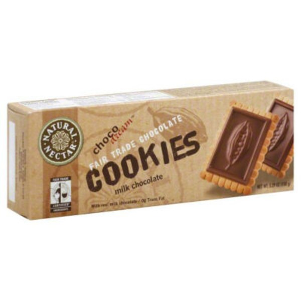 Natural Nectar Cookies, Milk Chocolate