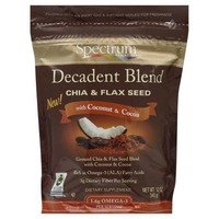 Spectrum Essentials Decadent Blend Chia & Flax Seed With Coconut & Cocoa