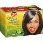 African Pride Olive Miracle Conditioning AntiBreakage Regular NoLye Relaxer