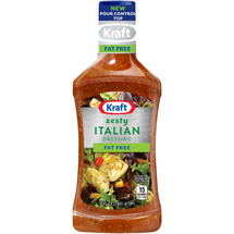 Kraft Salad Dressing: Free Zesty Italian 16 Fl Oz