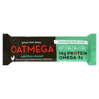 Oatmega Grass-Fed Whey Protein Bar Chocolate Mint